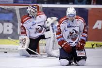 1. kolo baráže o hokejovou extraligu Pardubice - Č. Budějovice