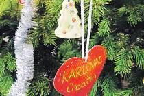 Žáci ozdobili Evropský vánoční strom v infocentru u Zelené brány