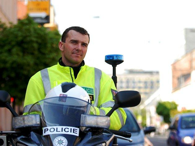 Dopravně bezpečnostní akce se účastnily i nové policejní motocykly