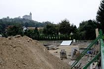 Stavební pozemek Lukáše Drymla