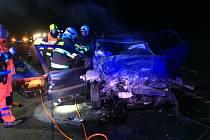 U obce Valy na Přeloučsku došlo k vážné dopravní nehodě.