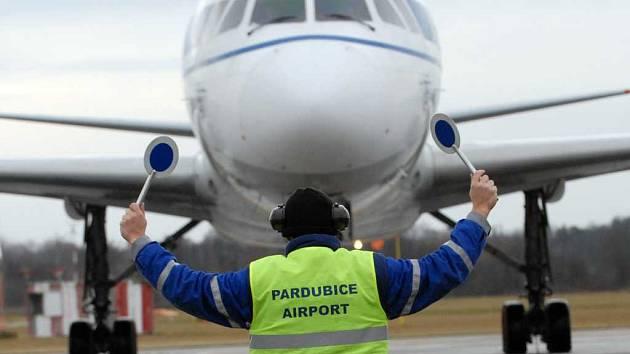 Letiště v Pardubicích