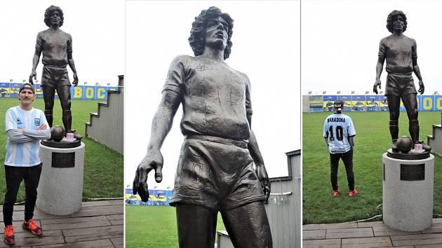 """""""Čurby"""" a jeho Maradona"""