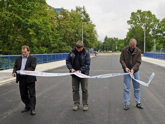 Opravený most byl znovu otevřen