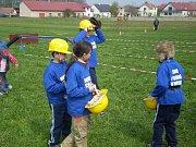 Mladí hasiči z Vysoké