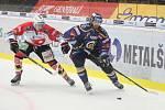 Hokejová extraliga: PSG Berani Zlín - HC Dynamo Pardubice.