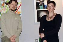 Lukáš Machačko a Dana Macounová