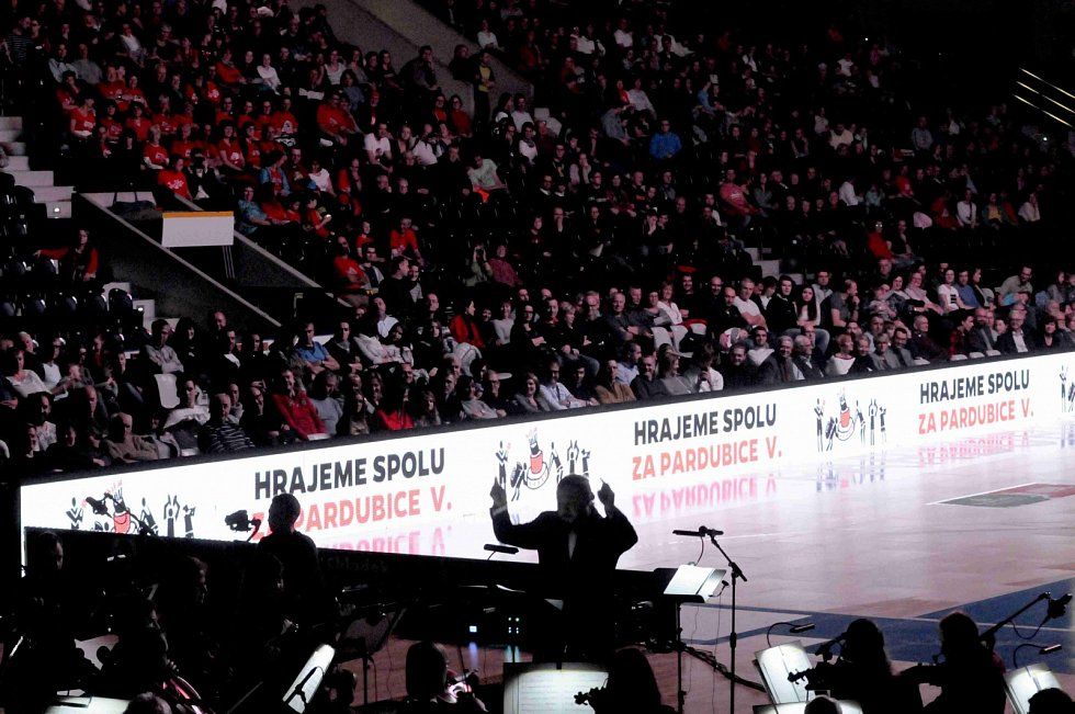Hrajeme spolu za Pardubice, 8.12.2018