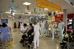 Nemocnice Svitavy přijala po vyhlášení traumaplánu osm pacientů zraněných při výbuchu v areálu Poličských strojíren.