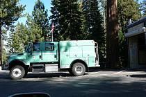 Lesní hasiči ve státě California.