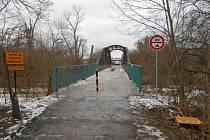 Opravený most Zeleňák