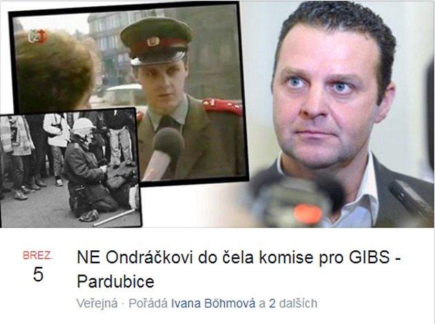 Proti komunistické mlátičce včele GIBS budou demonstrovat také vPardubicích.