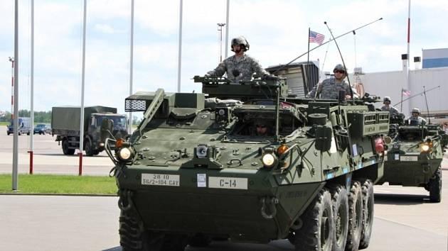 Konvoj Dragoon ride v Litvě