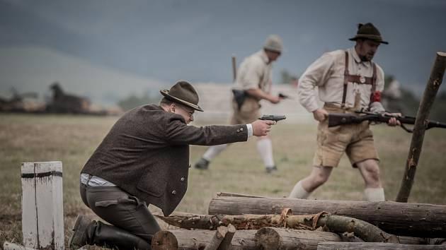 Cihelna 2016. Ukázky bojů druhé světové války.