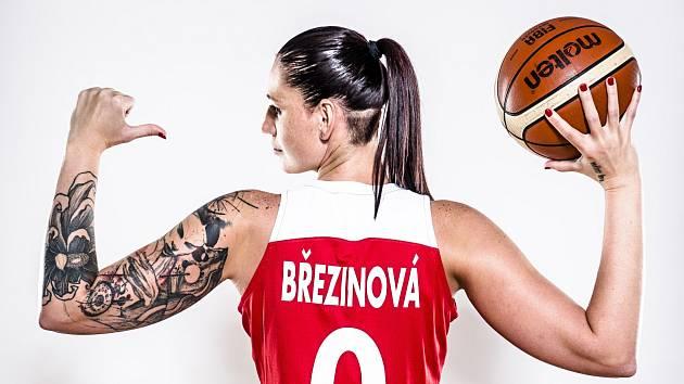 """Renáta Březinová a její """"rukáv""""."""