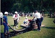 Ženské hasičské družstvo