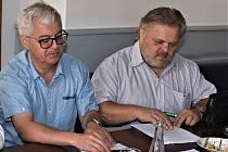 Jan Mazuch a Petr Laušman