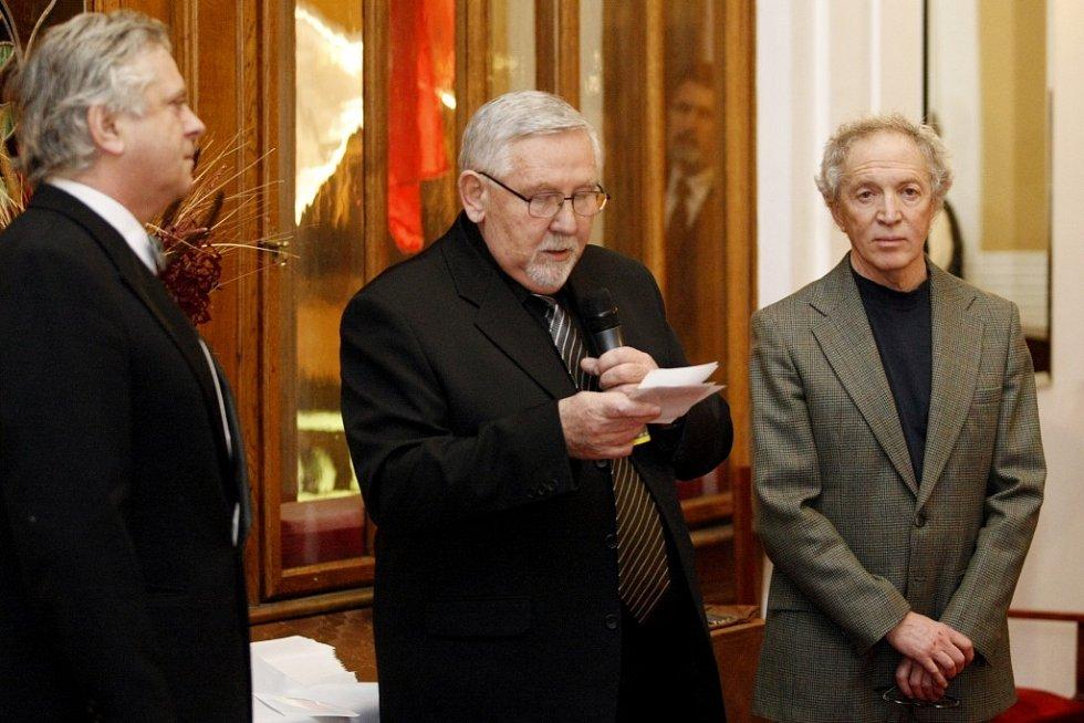 Do pardubického divadla zavítal výtvarník Michail Ščigol