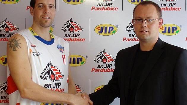Martin Volf podepsal roční smlouvu