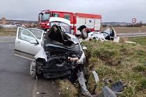 Nehoda u Horních Ředic