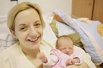 Sofie Šimonová se narodila 2. února v 11:35 hodin. Měřila 52 centimetrů a vážila 2890 gramů. Maminku Ivetu u porodu podporoval tatínek Marian a rodina bude bydlet v Sezemicích.
