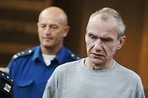 Pavel Pekárek odešel od královéhradeckého krajského soudu s doživotním trestem za brutální vraždu matky čtyř dětí.