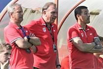 Trenérské trio FK Pardubice