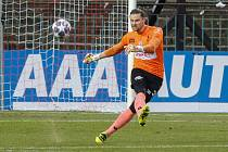 Fotbalová FORTUNA:LIGA: FK Pardubice - FC Fastav Zlín.