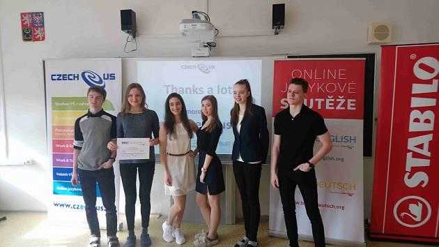 Studenti z gymnázia Dašická v Pardubicích zaznamenali výrazný úspěch.