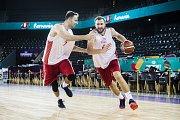 Čeští basketbalisté dorazili na další trénink před prvním zápasem evropského šampionátu.