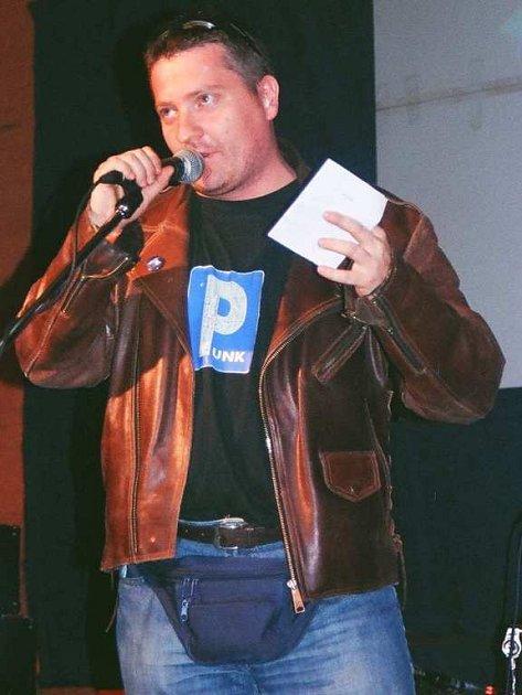 Pavel Milichovský z kapely Volant.