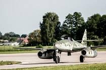 Jedním z taháků Aviatické pouti je i proudový Messerschmit 262 Schwalbe.