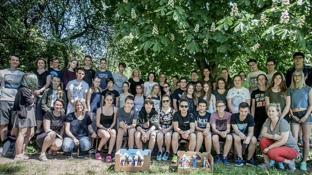 Studenti Základní školy Benešovo náměstí a a Walter-Gropius-Gymnasium Selb.