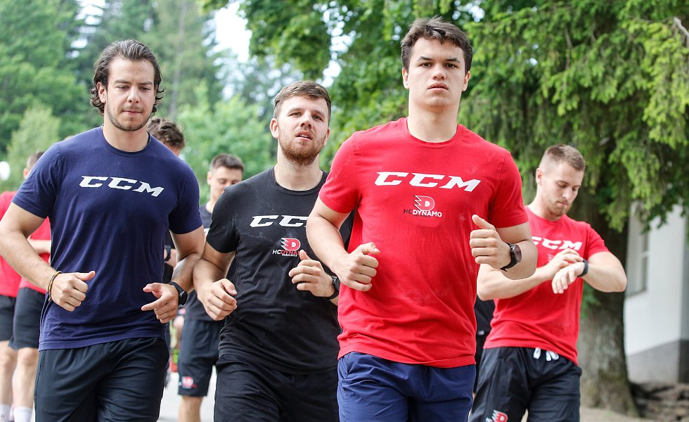 Letní soustředění hokejistů HC Dynamo Pardubice - Deštné v Orlických horách