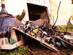 Elektroodpad. Ilustrační foto.