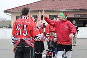 Finále Přeloučské hokejové ligy.