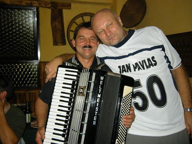 Rozhodčí Jan Pavlas oslavil padesátku