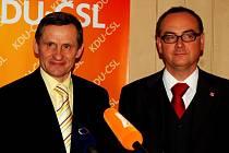 Jiří Čunek a Roman Línek