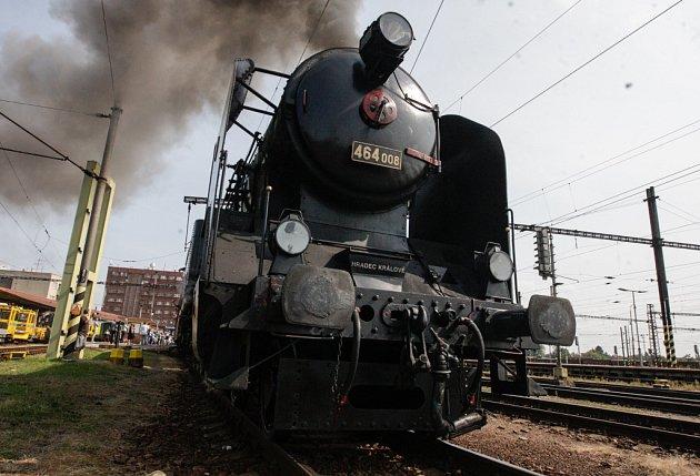 Z oslav 160. výročí tratě Pardubice – Jaroměř a Regionálního dne železnice v Pardubicích.