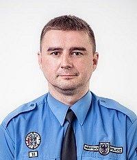 Lukáš Dvořák, vrchní strážník MP Chrudim