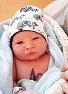 JAKUB ZATLOUKAL se narodil 3. ledna v 11 hodin a 9 minut mamince Monice a tatínkovi Davidovi, který byl u porodu. Měřil 51 centimetrů a vážil 3570 gramů.