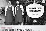 """Na """"nepolitickou"""" akci v Přívratu zvali Piráti na facebooku placenou inzercí, kterou sponzorovala Česká pirátská strana."""