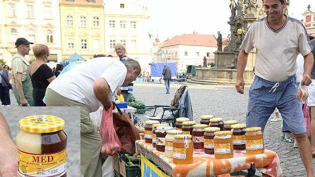 Dvoubarevný med