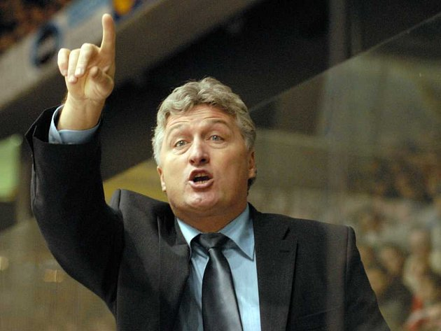 Hokejový trenér Miloš Říha