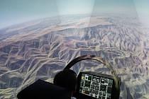 Taktické simulační centrum v Pardubicích školí piloty ve stíhacím boji.