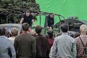 Srpnová okupace roku 1968 na Pernštýnském náměstí v Pardubicích. Režisér Robert Sedláček zde natáčel scény pro film Jan Palach.