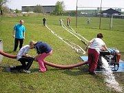 První útok s vodou,tréning 2006