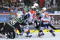 31. kolo hokejové extraligy. Pardubice - Karlovy Vary 3:0