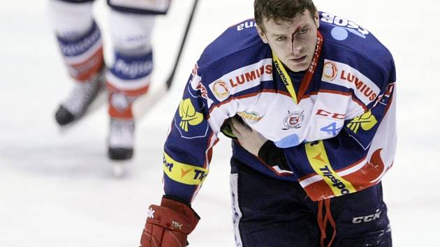 Zraněný Jan Zdráhal
