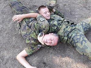 Krav maga u pardubických vojáků